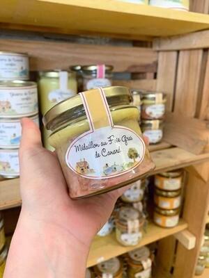 Médaillon au foie gras de Canard