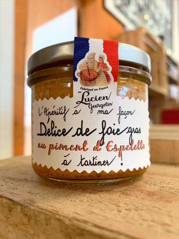Délice de foie gras au piment d'Espelette