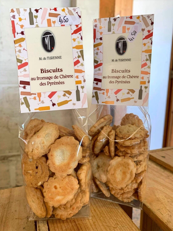 Biscuits au fromage de chèvre des Pyrénées