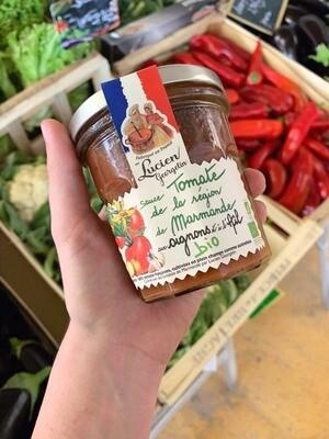 Sauce tomate de Marmande BIO oignon et ail
