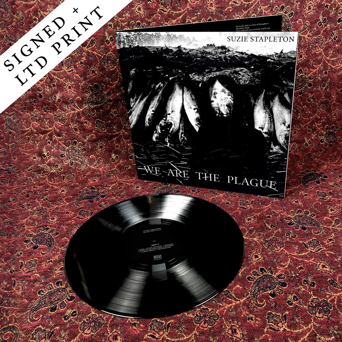 "We Are The Plague - 12"" Vinyl (Signed) + Limited Edition Print"