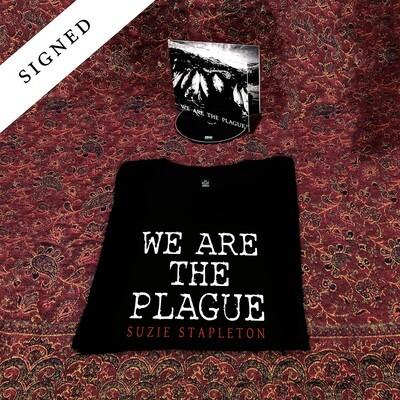 CD Album (Signed) + T-Shirt (printed front & back)