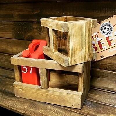 Ящик деревянный (25х10х14 см)