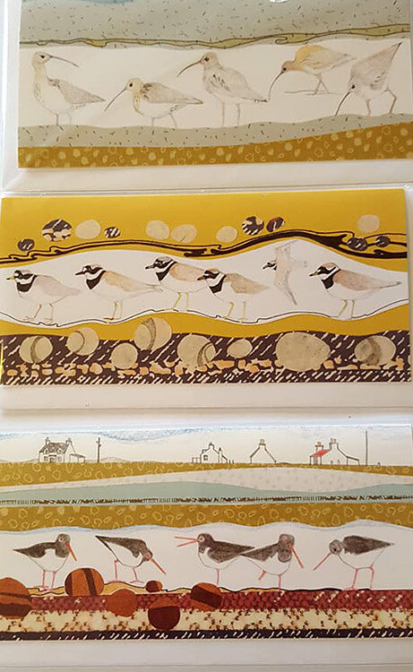 Cards - Collage Birds - Pack 3