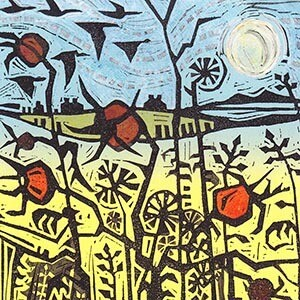 Cards - Rosehips - Pack 6