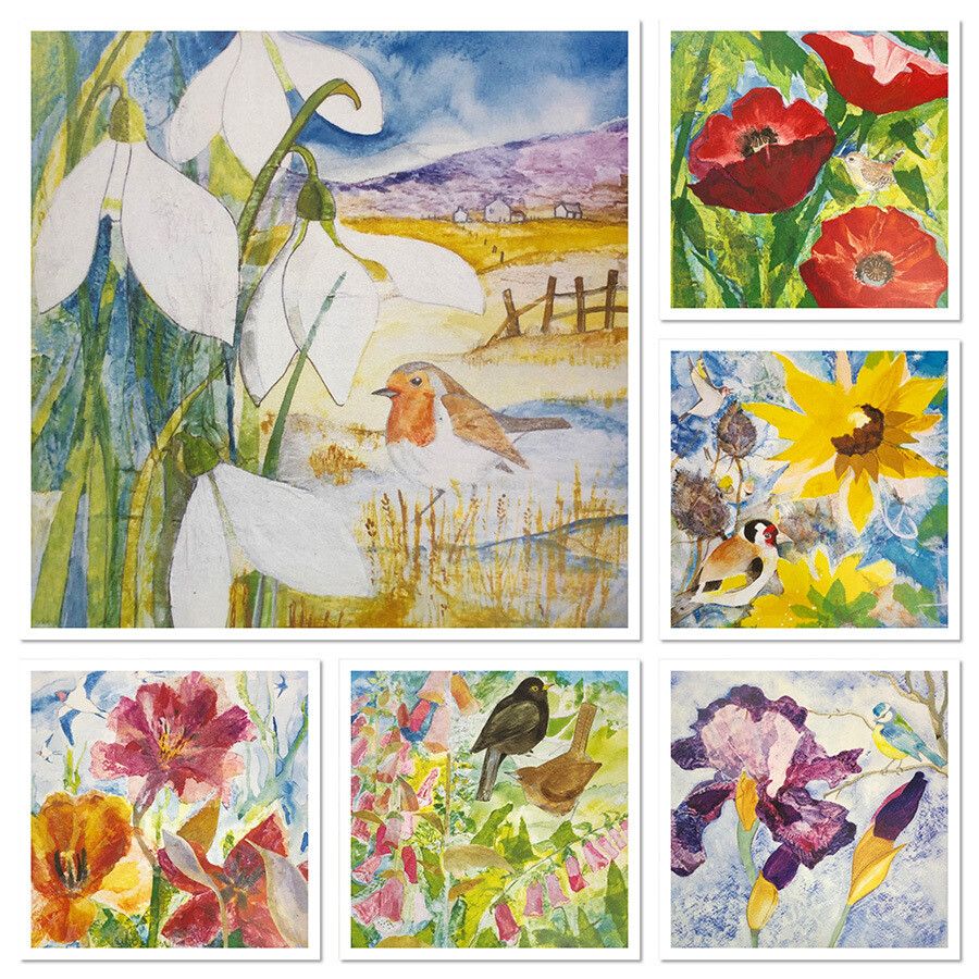 Cards - Hebridean Garden - Pack 6