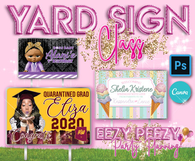 EZPZ Yard Sign Class