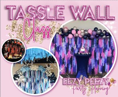 EZPZ Tassle Fringe Wall Class