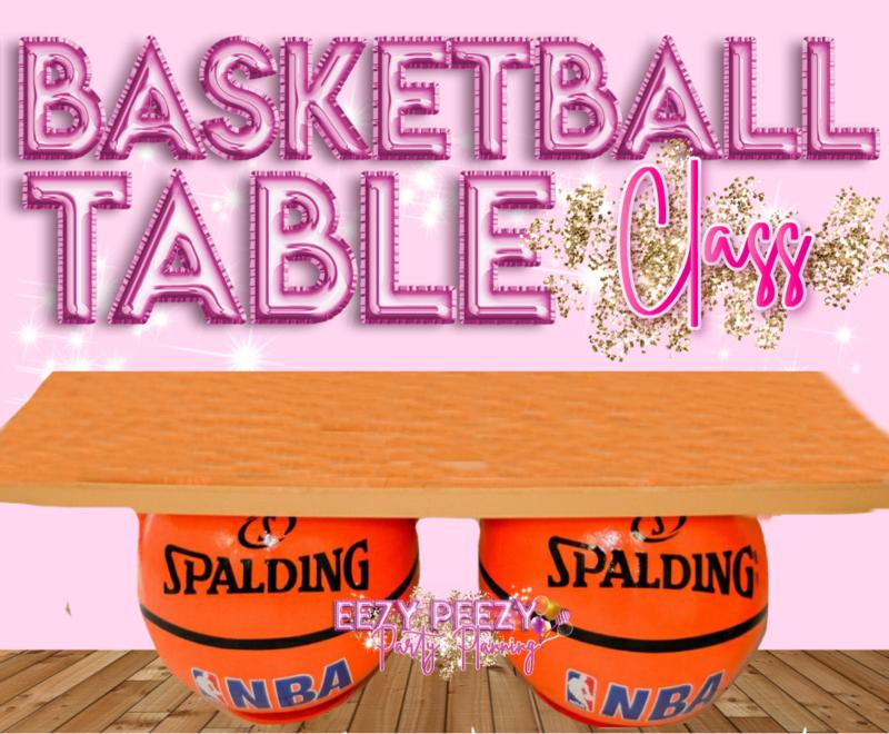 EZPZ Basketball Table Class