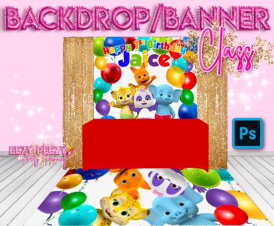 EZPZ Backdrop/Banner Class Photoshop