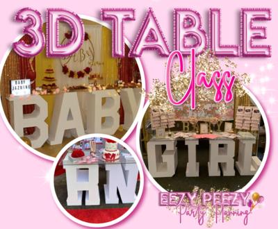 EZPZ 3D Table Class