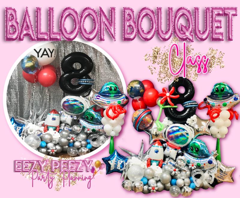 EZPZ Balloon Bouquet Class