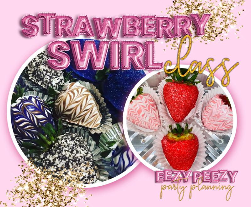EZPZ Strawberry Swirl