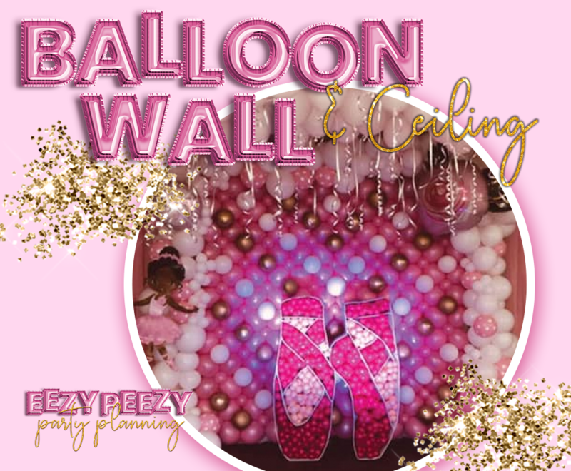 EZPZ Balloon Wall & Ceiling
