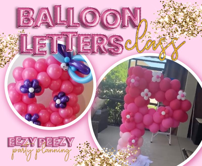 EZPZ Balloon Letters
