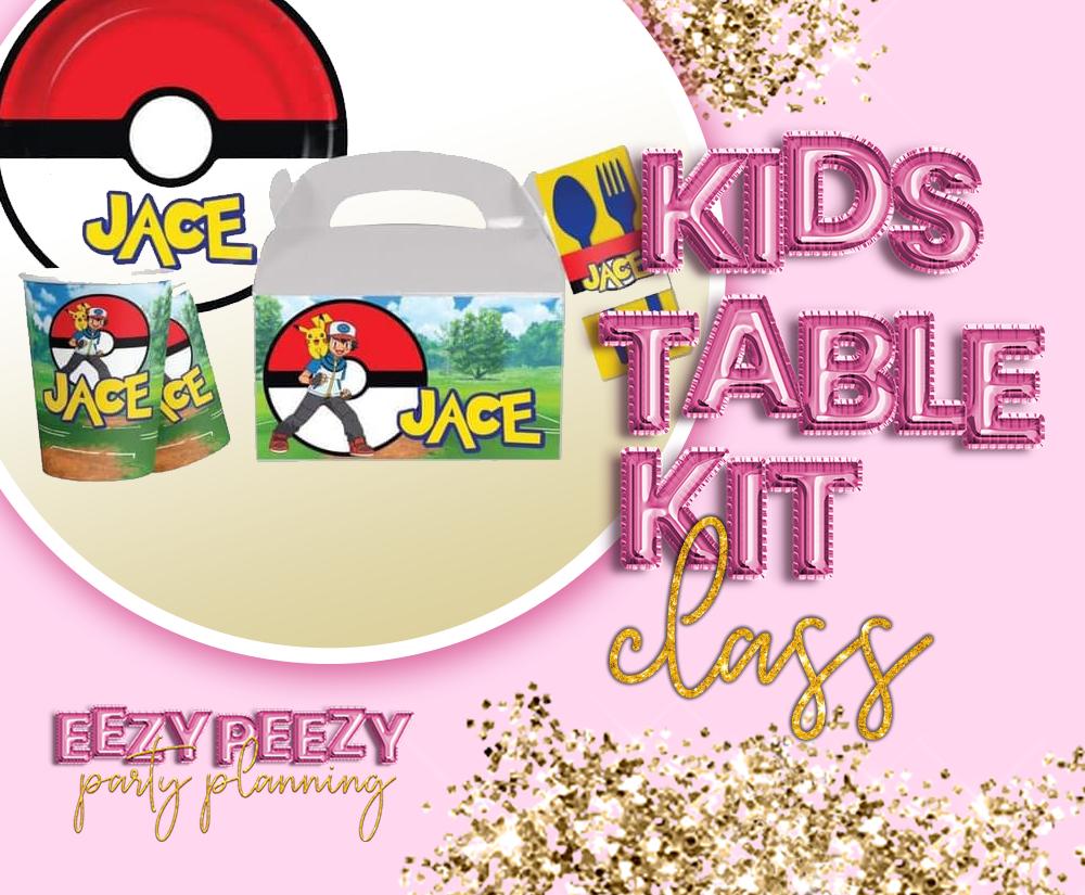 EZPZ Kids Table Kit