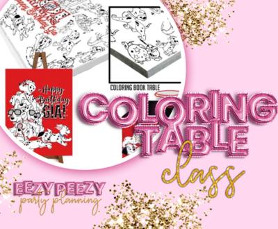 EZPZ Coloring Table