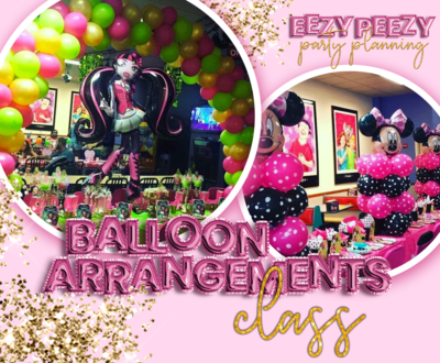 EZPZ Balloon Arrangements