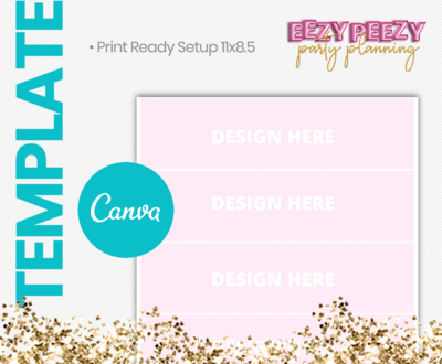 Canva • Water Label
