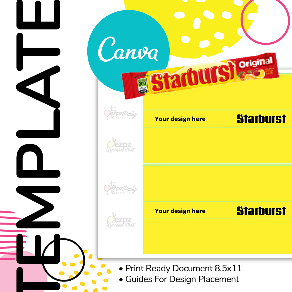 Canva • Starburst Wrapper