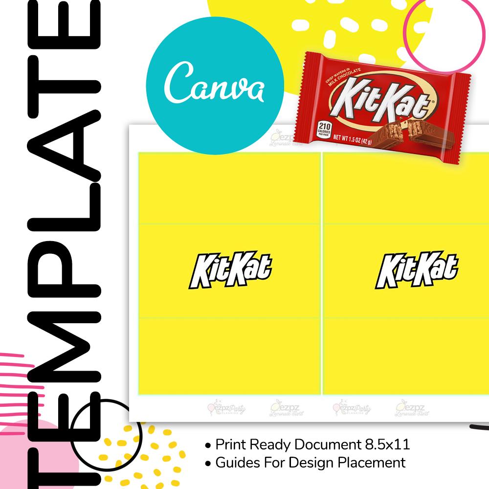 Canva • Kit Kat