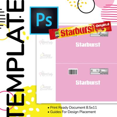 PSD • Starburst Wrapper