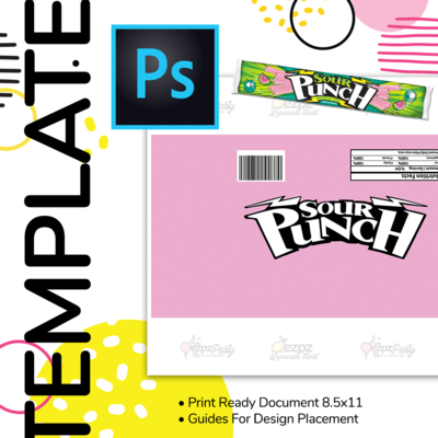 PSD • Sour Punch Straws