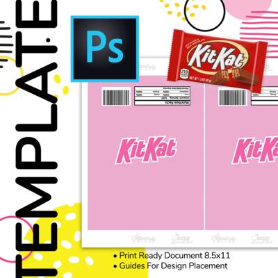 PSD • Kit Kat