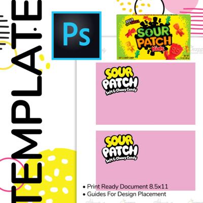 PSD • Sour Patch Box