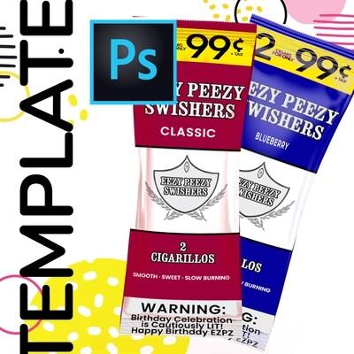 PSD • EZPZ Swishers Template