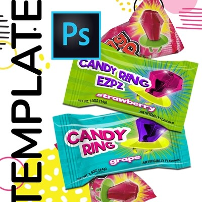 PSD • Candy Ring Template