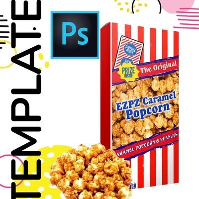 PSD • Caramel Popcorn Template