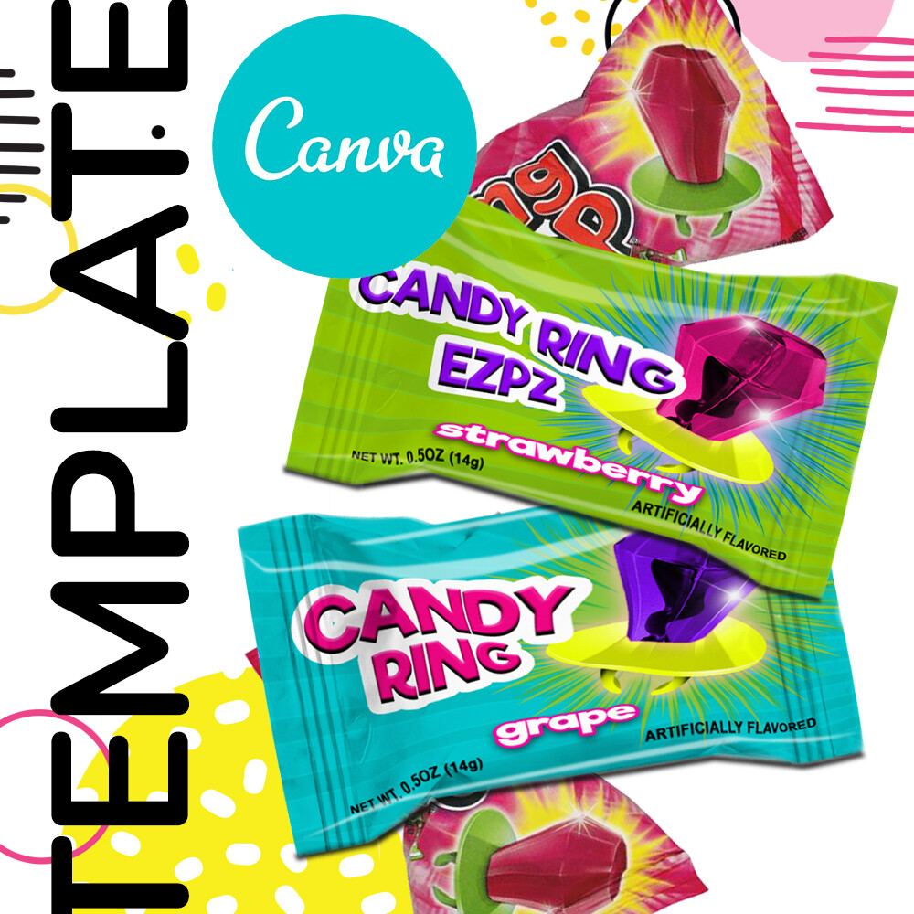 Canva • Candy Ring Template