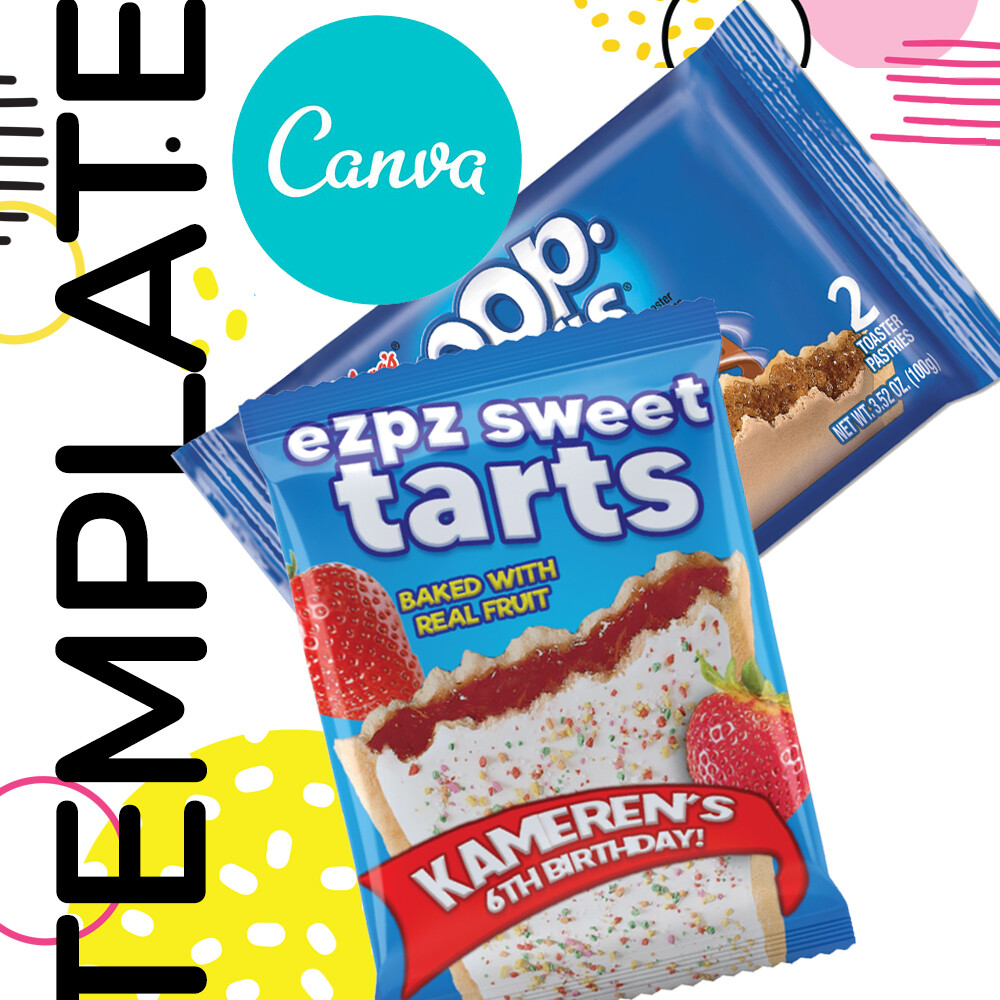 Canva • Sweet Tarts Templates