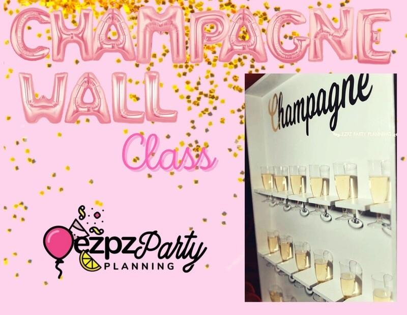 Ezpz Champagne Wall