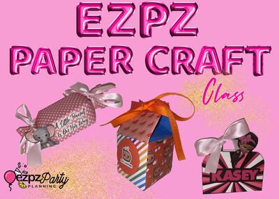 Ezpz Paper Crafts