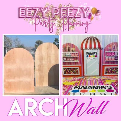Ezpz Arch Wall Tutorial