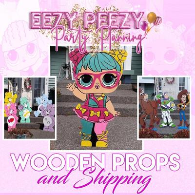 Ezpz Wooden Props & Shipping