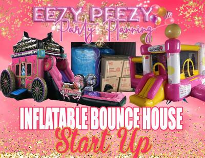 Ezpz Inflatable Bounce House Start Up