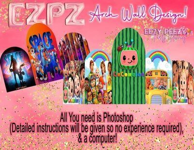 EZPZ Design Arch Wall