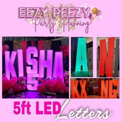 EZPZ 5ft LED Letters