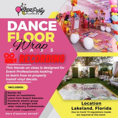Ezpz Dance Floor Wrap Class (Virtual)