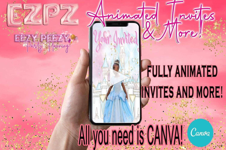 EZPZ Animated Invitation Tutorial