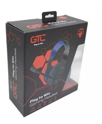 Auriculares Ps4 Gamer Pc Microfono Plug 3.5 gtc Hsg-517