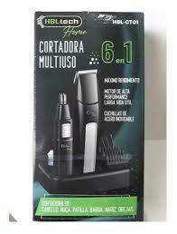 Maquina Cortadora de pelo y barba Multiuso 6 en 1