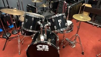 CB 5 piece Drum Set with Zildjian Cymbals (used)
