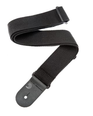 Cotton Guitar Strap - Black