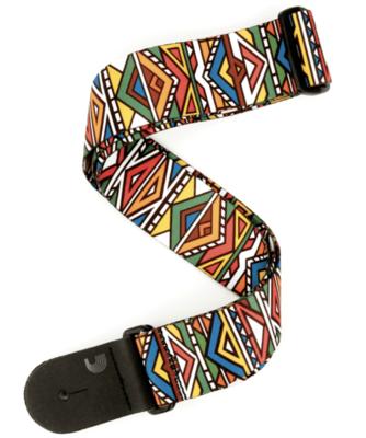D'Addario Woven Guitar Strap - Ndebele