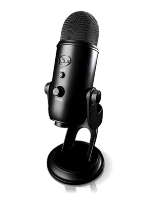 Yeti Blackout Professional USB Microphone
