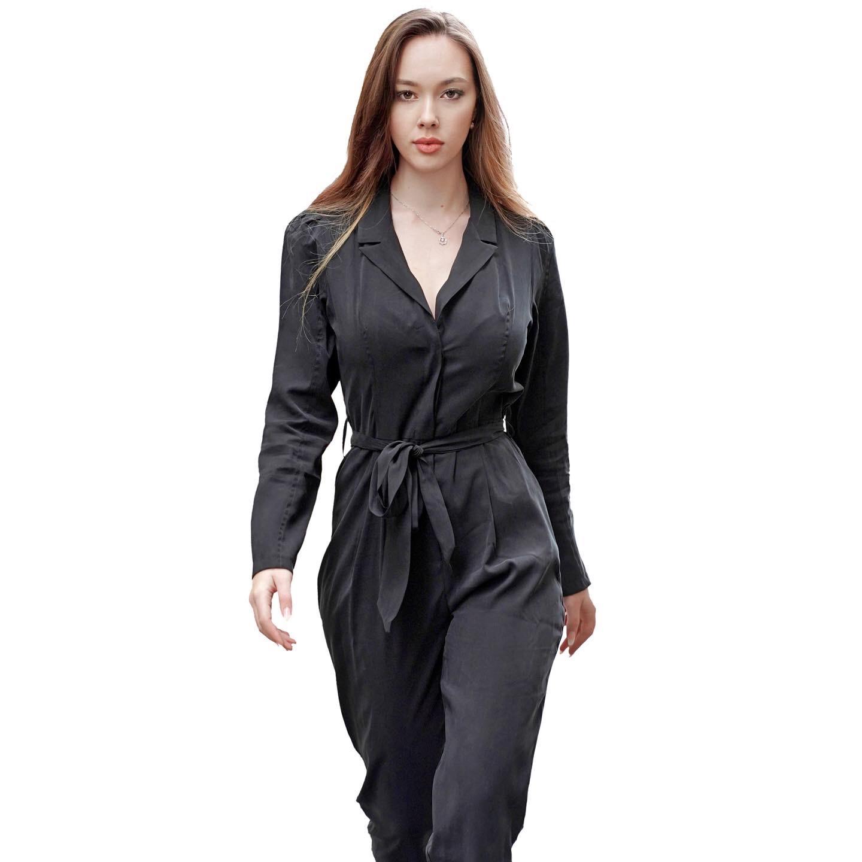 Jumpsuit  uni black colour